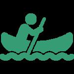 man-in-canoe