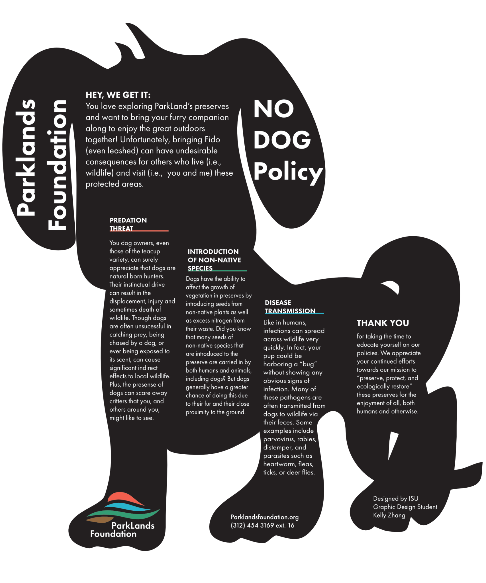 ParklandsFoundation-NODOGpolicyposter updated 5.2020